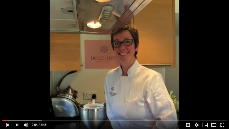 video of Dolce Lusso Cakes and how to order your wedding cake covering Oxfordshire, Berkshire and Buckinghamshire weddings